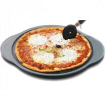 Plat à pizza , Plaque perforée à Pizza Revêtement anti-adhérent naturel en céramique 570076