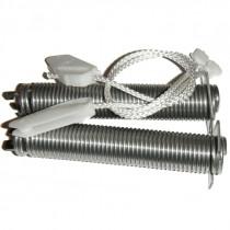 Cables + ressort de porte lave vaisselle 00754869 Neff Gaggenau Viva Bosch Siemens