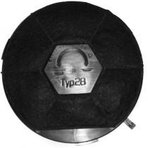 Filtre a charbon Wpro CHF289 Type 28
