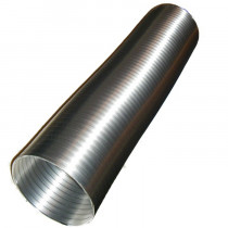 Tuyau d'évacuation / raccordement 127 mm ø en aluminium