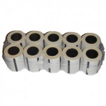 Etiquettes adhesives pour autoclave EURONDA E9 E10 Lot de 10 rouleaux