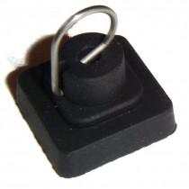 JEU DE 4 Patins de grille plaque cuisson gaz  Smeg 694010259